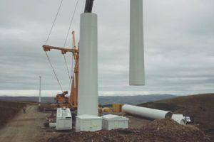 Gamesa Turbine, Hare Hill Wind Farm, Scotland. Photo by Gerard Thompson.