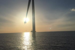 Anholt ?wind farm in Denmark?? doing LEP/LPS blade work on Siemens 3.6MW turbine. Sent by Nnamdi Collins Ochonogor