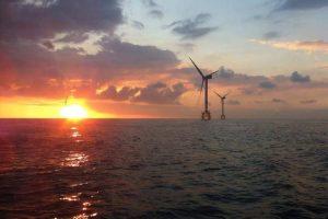 Ricardo Leitão took this at Thorntonbank Wind Farm