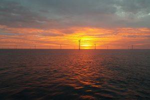 Sunrise over Anholt in Denmark  taken by Simon MacVarish