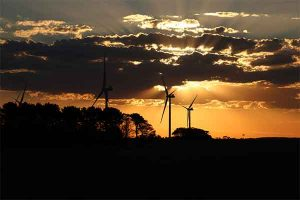 This sunset ? shot was taken at Macarthur Wind Farm in Victoria, Australia ??. Thanks to Angesh Kanna for sending this in.